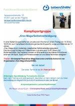 """Kampfsportgruppe """"KravMaga/Selbstverteidigung"""""""
