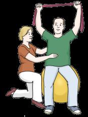 Kranken-Gymnastik