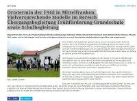 FAGI / Übergangsbegleitung