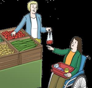 Assistenz Einkaufen
