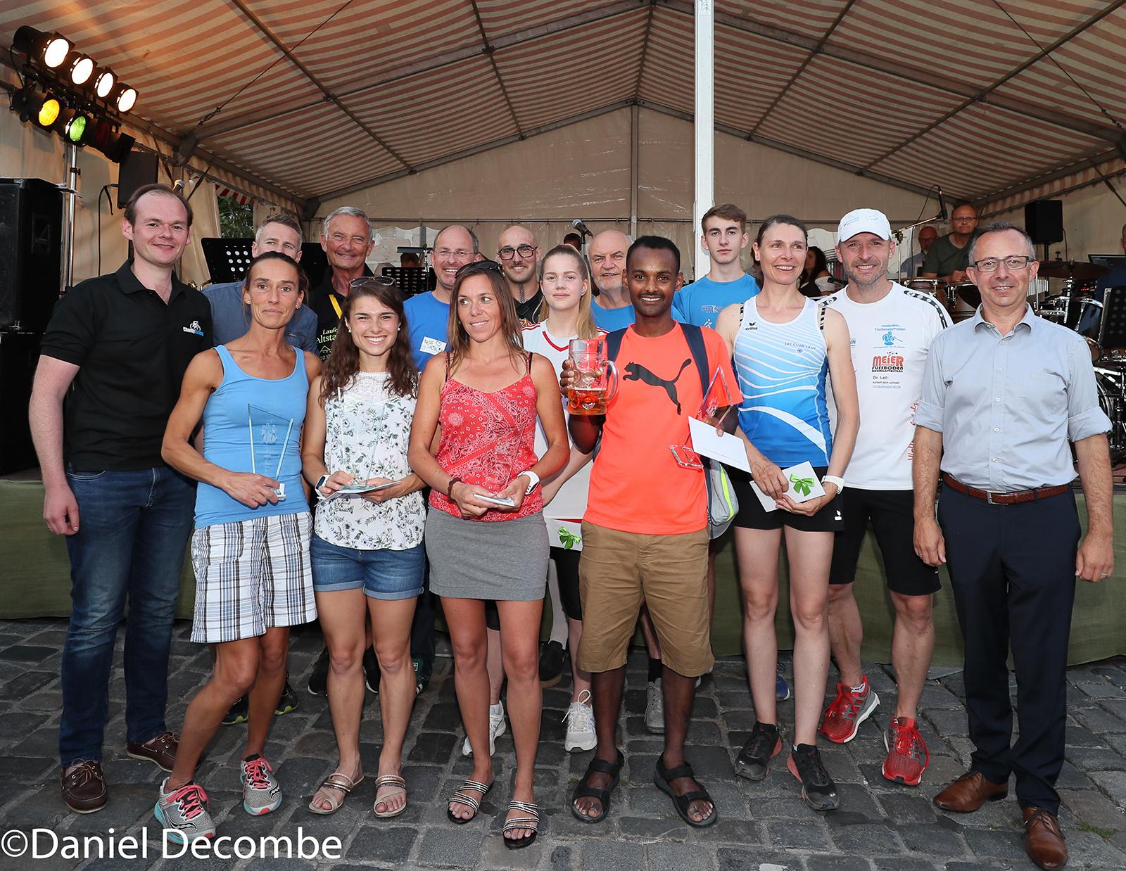 Die Sieger des Altstadtfestlaufs 2019