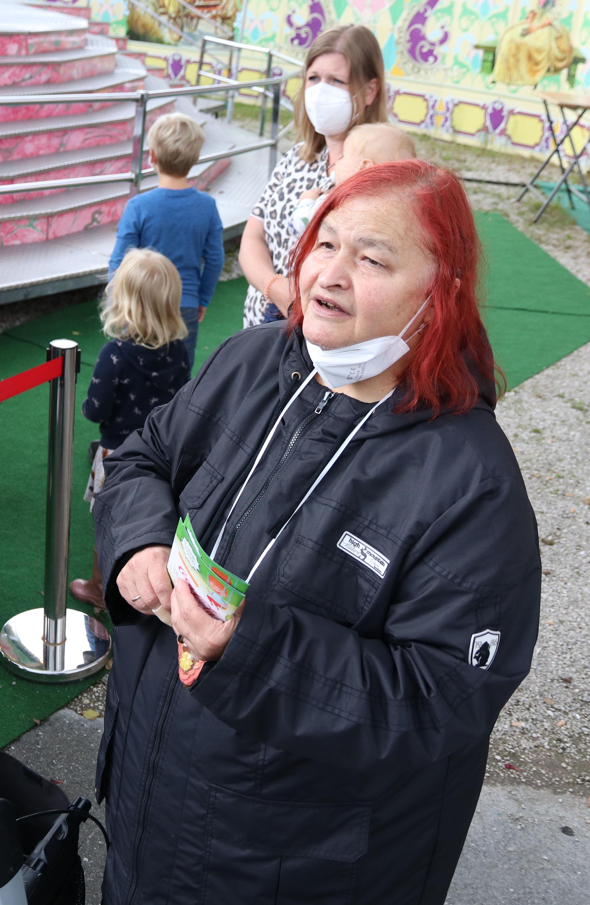 Ein echtes Highlight in Coronazeiten, formulierte Birgit Hübner, Sprecherin der B etreuten der Lebenshilfe Nürnberger Land e. V .