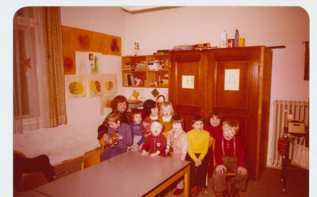 Archivbild aus den Anfangszeiten der Geistigbehindertenhilfe im Nürnberger Land