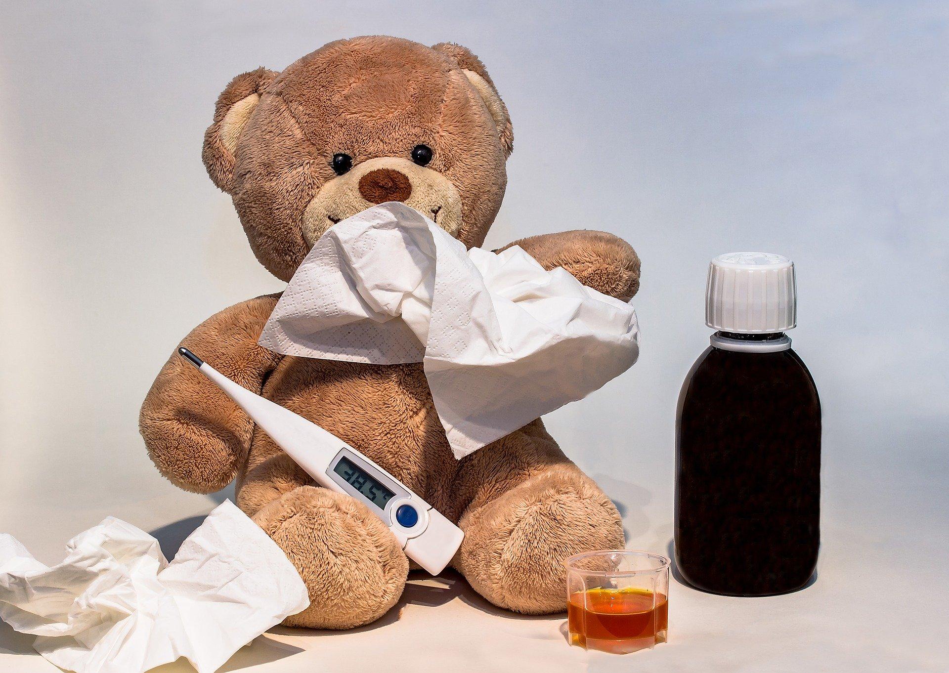 """Beachten Sie bitte unseren Ablaufplan """"Leitfaden zum Umgang mit Kindern und Jugendlichen mit Erkältungssymptomen in Grundschulen und weiterführenden Schulen"""" des LGL"""