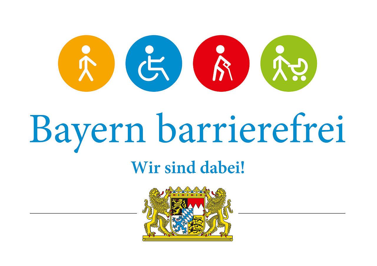 Lebenshilfe Nürnberger Land ist bei der Aktion dabei: #Bayernbarrierefrei