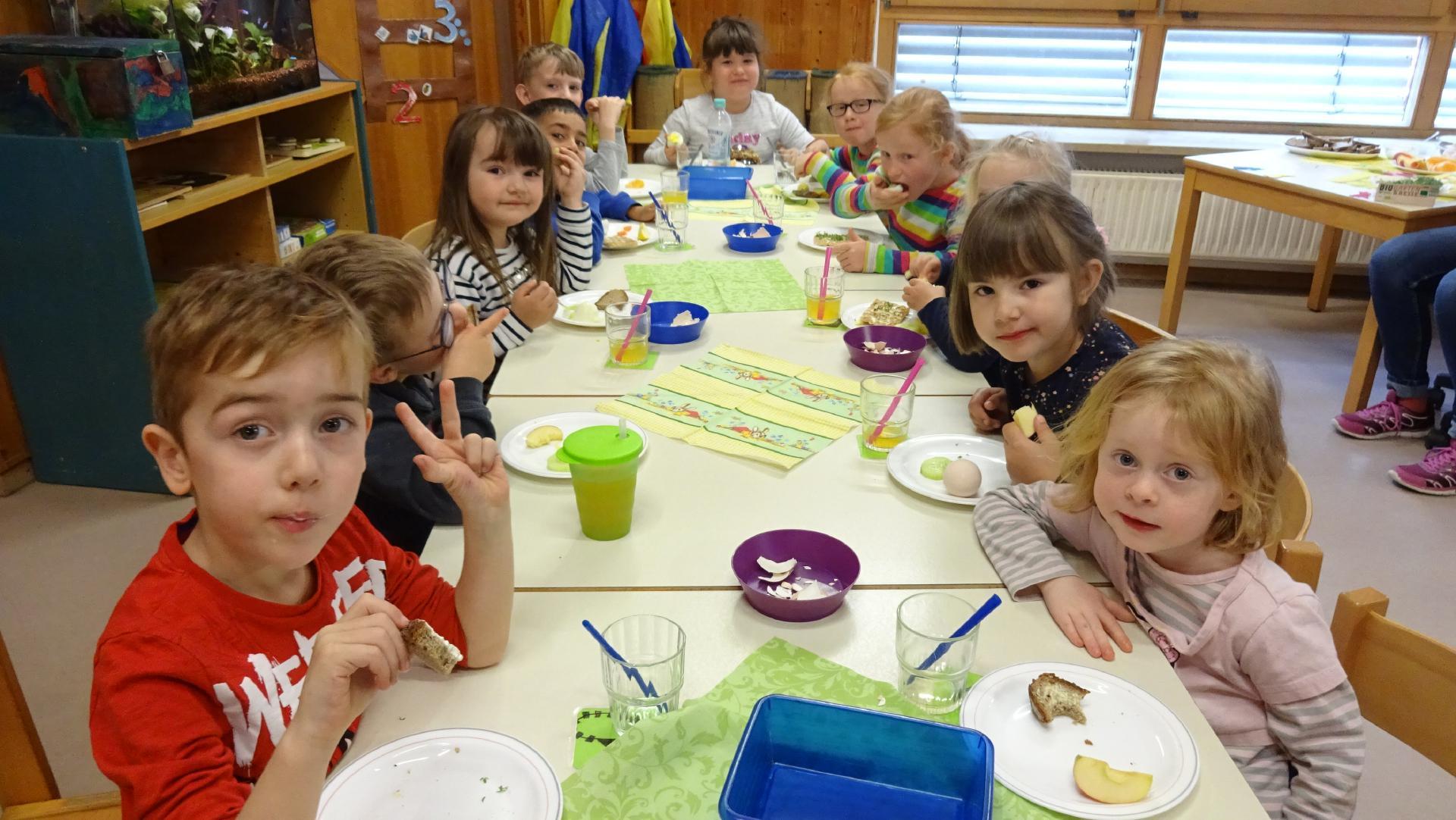 Gesund und Fit- Woche in der inklusiven Kindertagesstätte der Lebenshilfe in Hersbruck