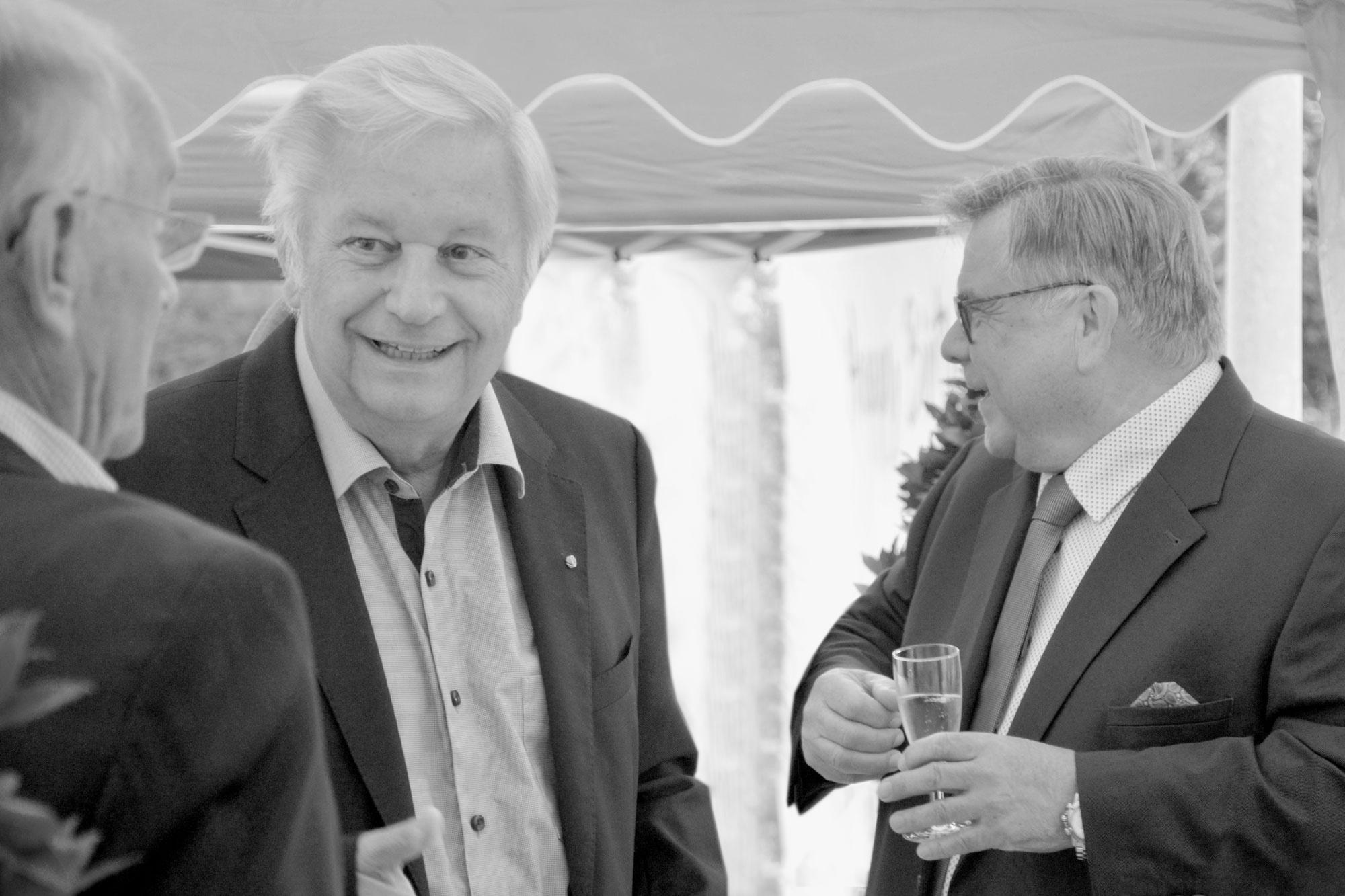 Lebenshilfe-Familie trauert um Hansgeorg Hauser. Das Mitglied des Stiftungsrats der Lebenshilfe Nürnberger Land verstarb am 24.2.21 im Alter von 77 Jahren an den Folgen einer Leukämie-Erkrankung und Corona. (Archivbild 2020)