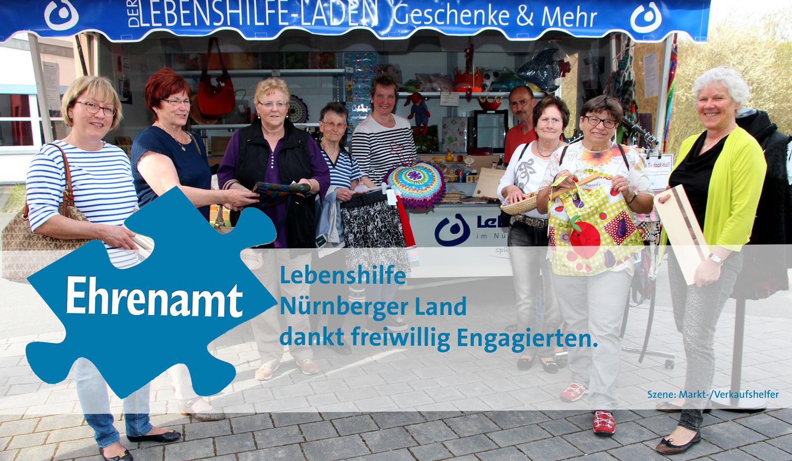 """5.12. """"Tag des Ehreamts"""" – Vorsitzender John dankt Ehrenamtlichen für deren Unterstützung: """"Bei der Lebenshilfe Nürnberger Land ist jeder Tag auch ein Ehrenamtstag."""""""