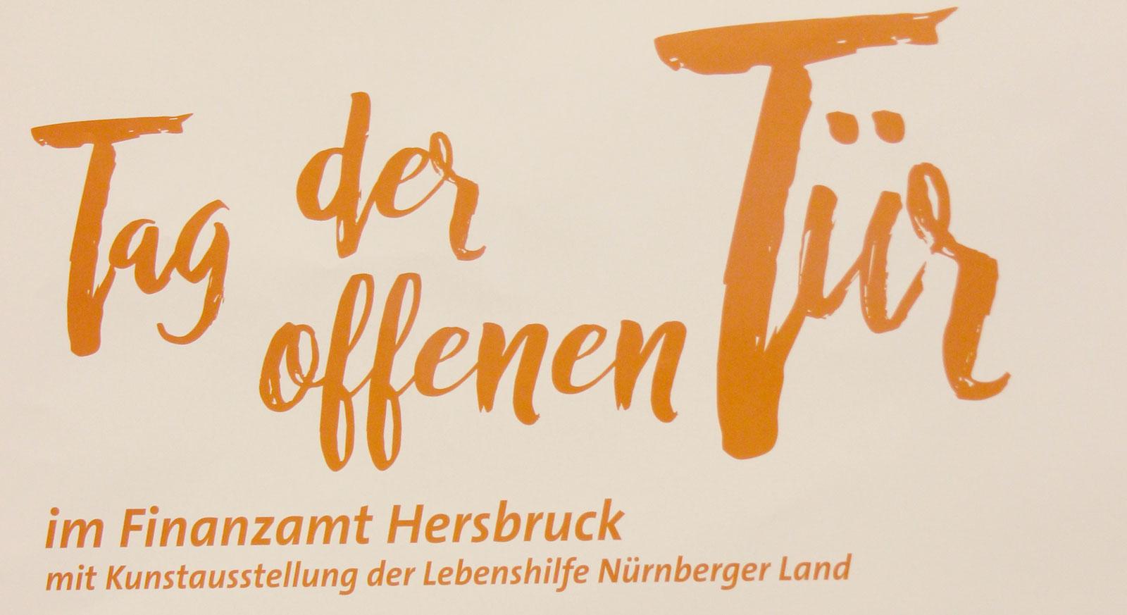 6.5.2017: Finanzamt Hersbruck lädt zum Tag der offenen Tür mit Kunstaustellung