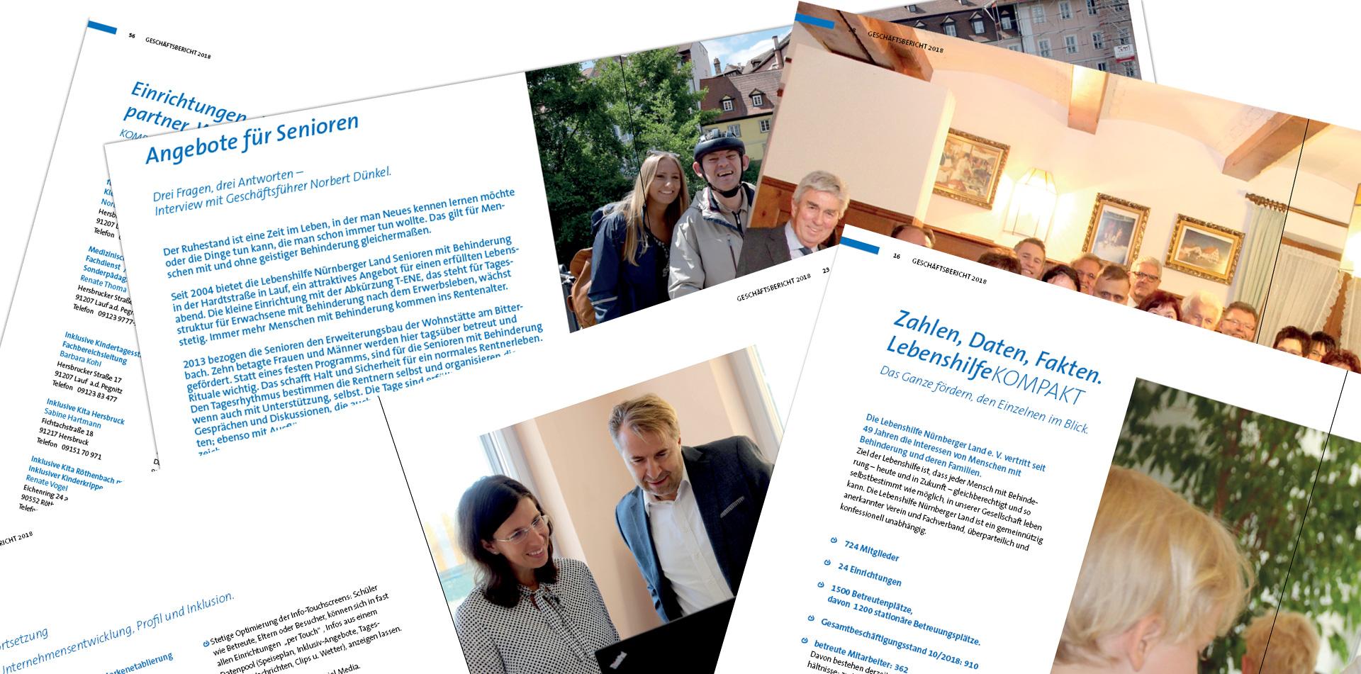 Geschäftsbericht 2018: Porträt, Unternehmensentwicklung, Nachschlagewerk.