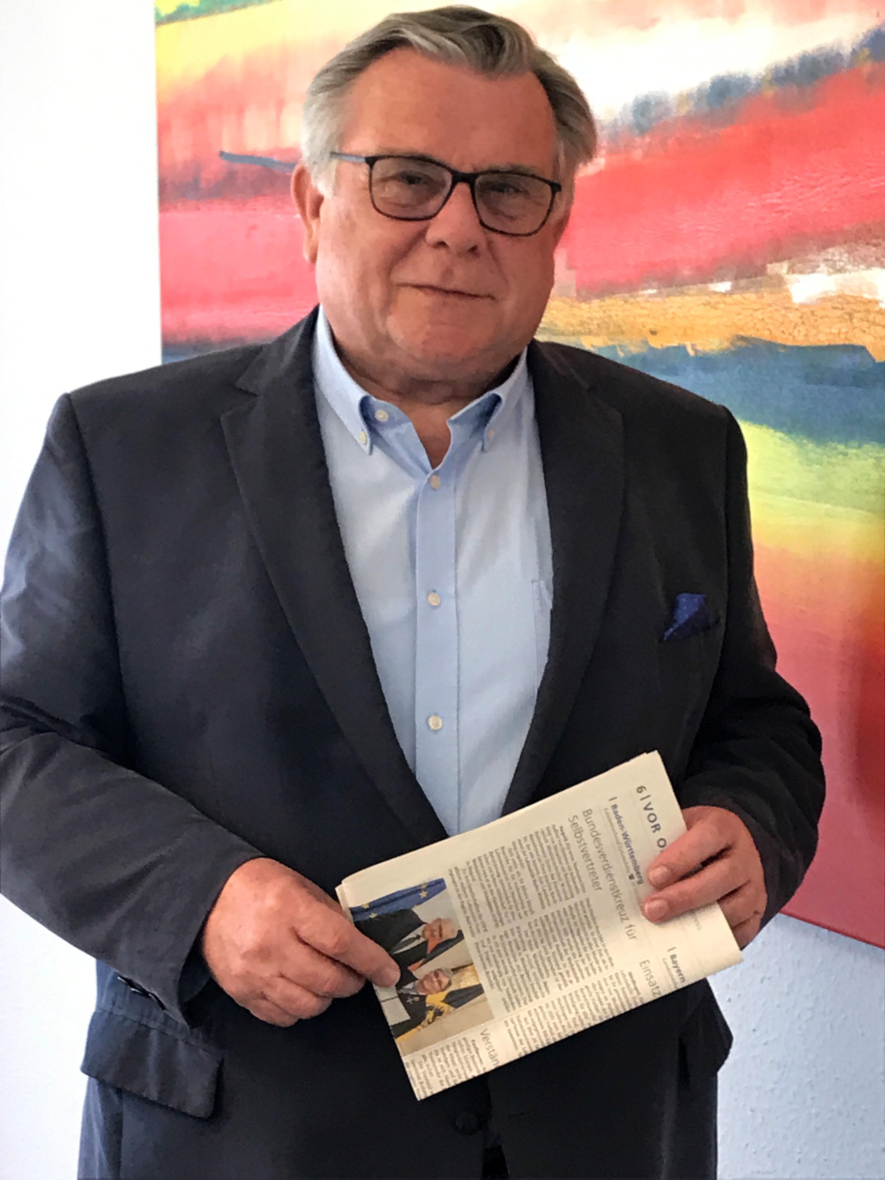 Lebenshilfe-Chef Gerhard John (Foto) wohnt selbst in Altdorf und sieht für den Verkauf der attraktiven Grundstücke nur Gewinner.