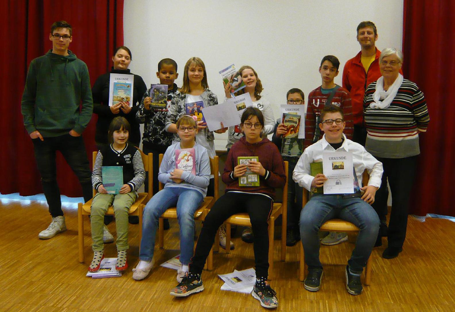 Vorlesewettbewerb in der Dr. Bernhard Leniger Schule