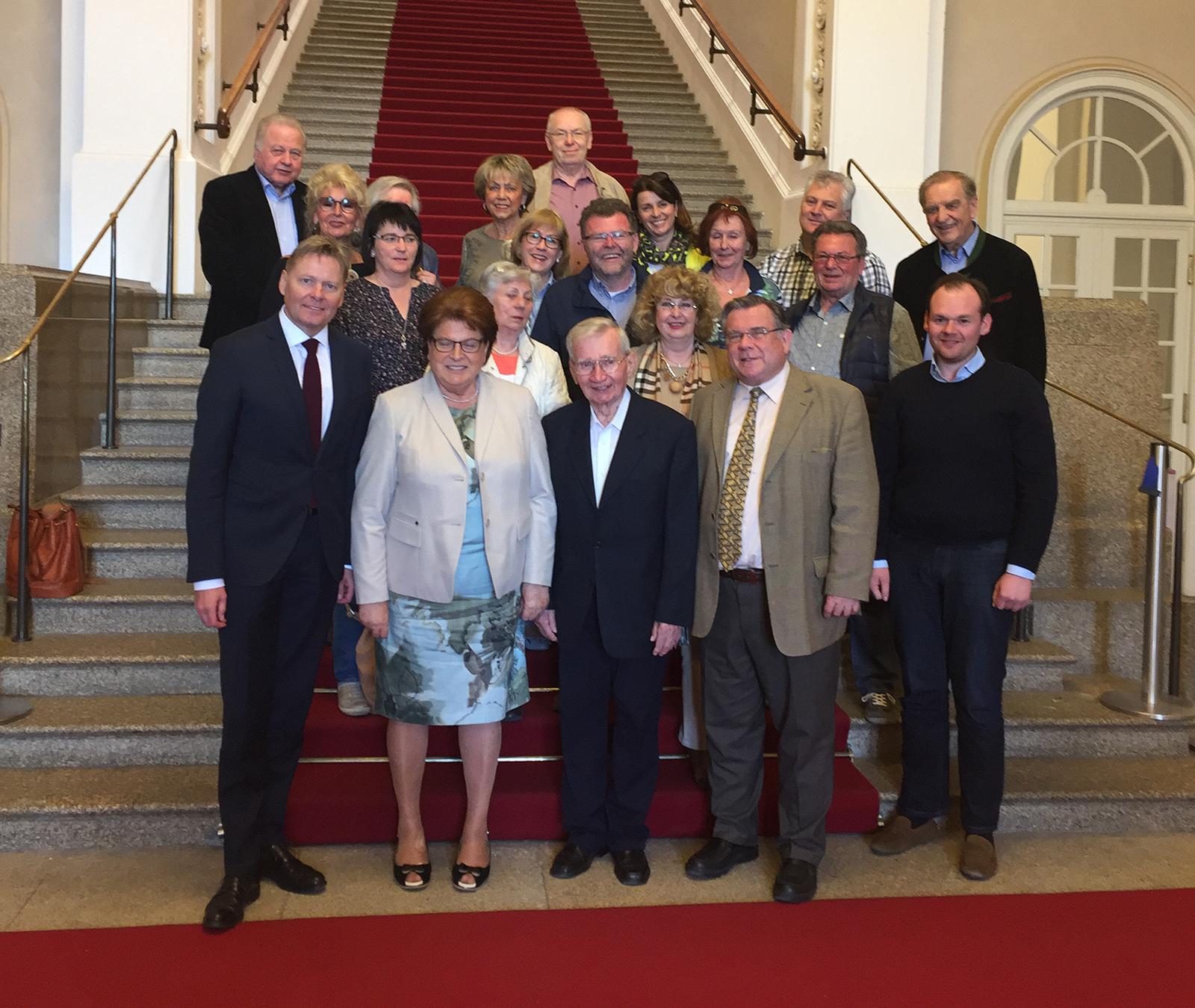 Vorstände der Lebenshilfe Nürnberger Land im Bayerischen Landtag