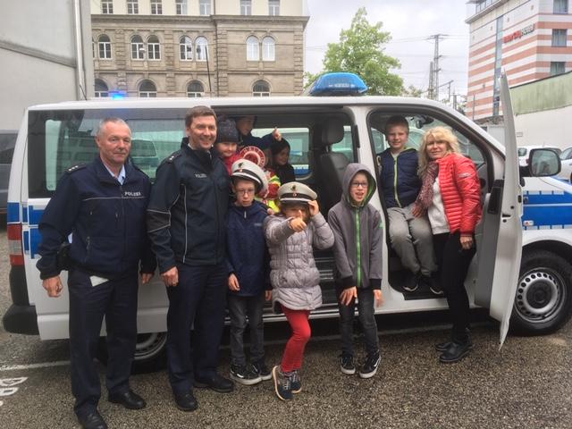 Besuch bei der Bundespolizei