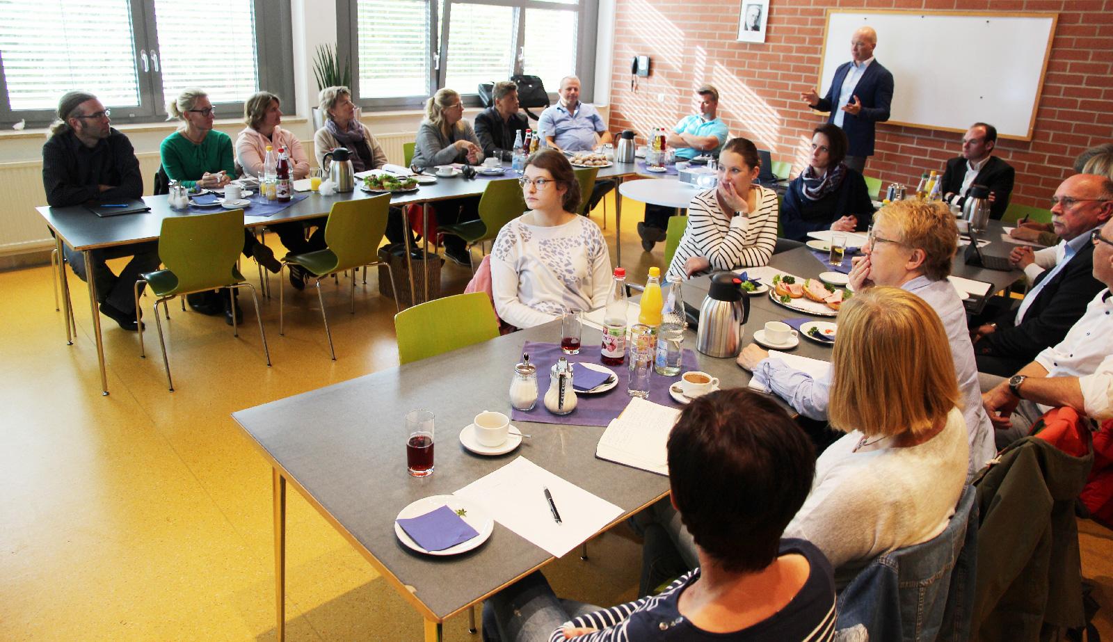 Seminar rund um Neuerungen der Datengrundschutzverordnung.
