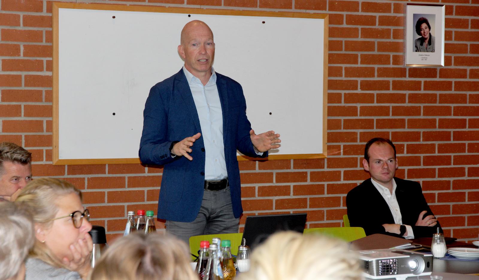 Thomas Brunner, Brunner & Schmidt, bestellter Datenschutzbeauftragter der Lebenshilfe, erläuterte zu Neuerungen der Datengrunschutzverordnung der EU.