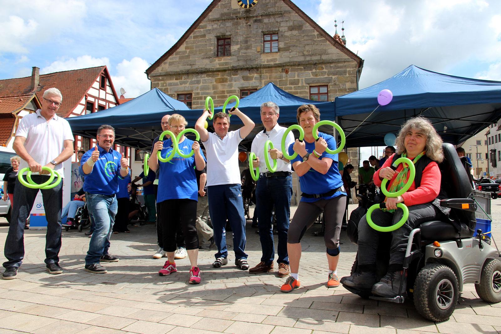 Aktionsprogramm in Altdorf bot Spaß- und Fitness für Menschen mit und ohne Handicap.