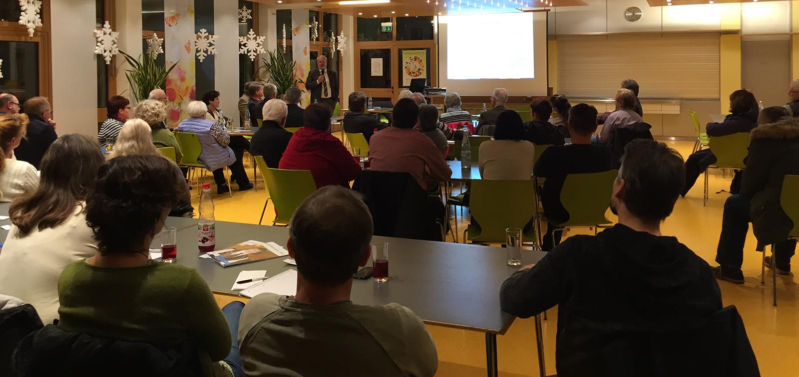 Elternabend: Notar Weser informierte