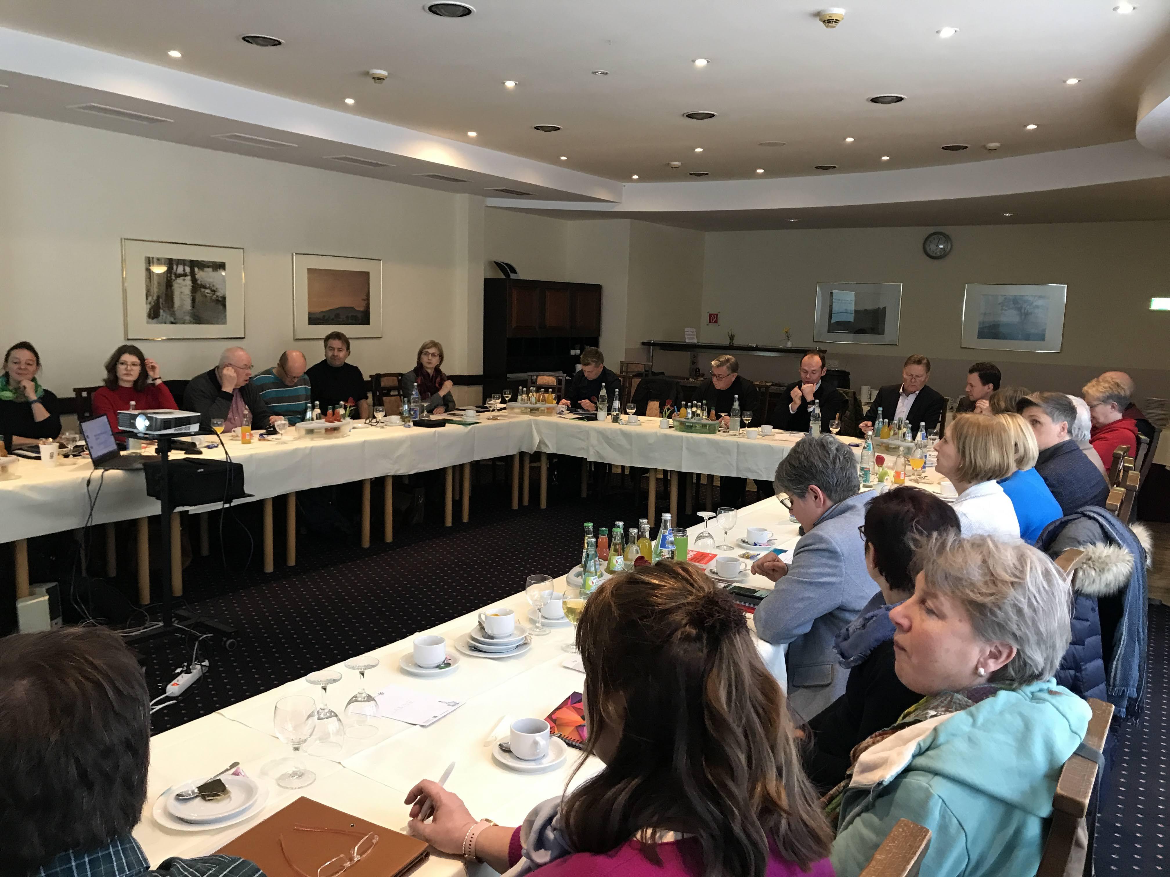 Lebenshilfe-Führung traf sich zur dreitägige Tagung in Annaberg.