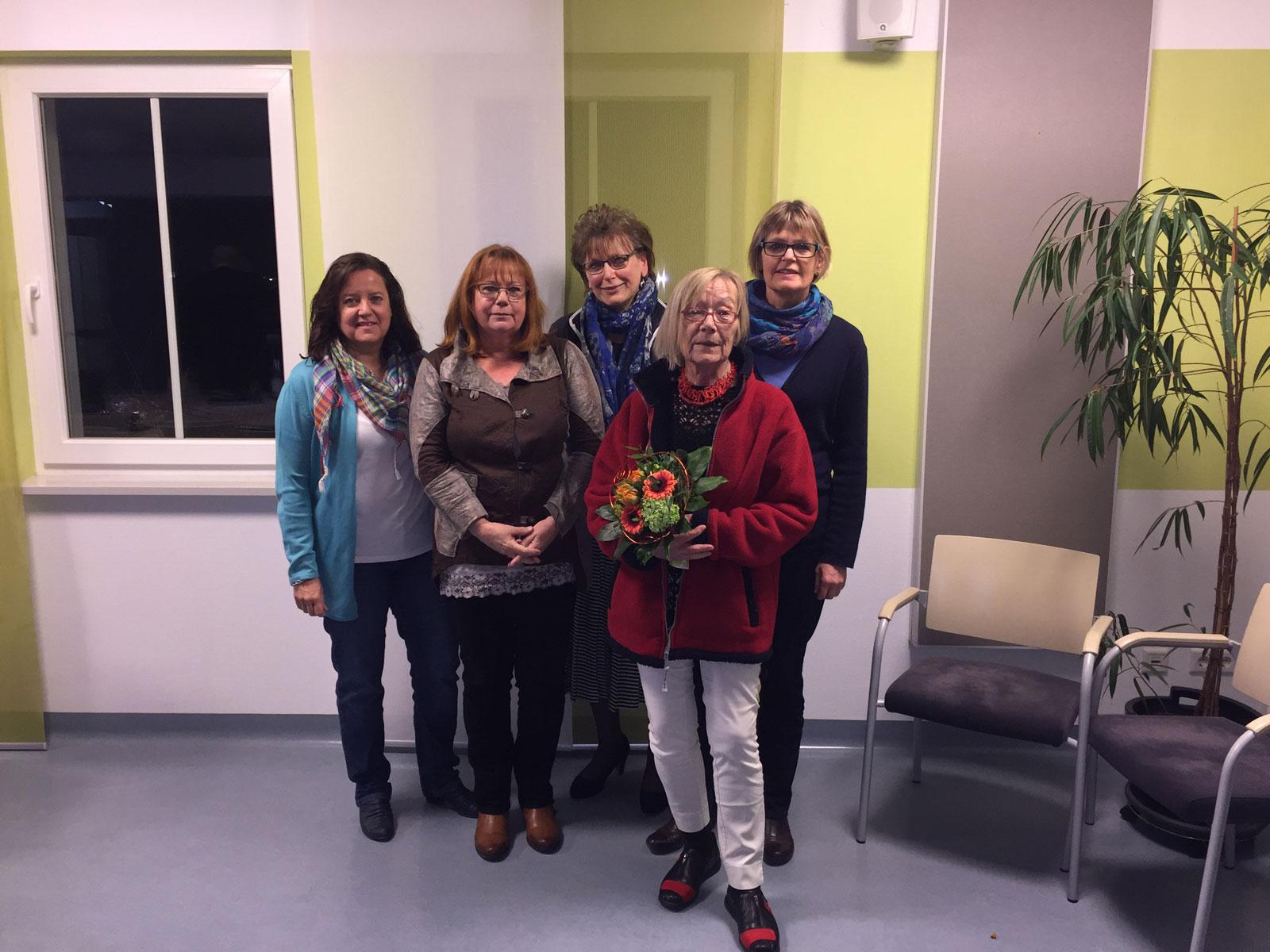 Der neu gewählte Elternbeirat des Betreuungszentrums am Haberloh in Lauf 2017/2118