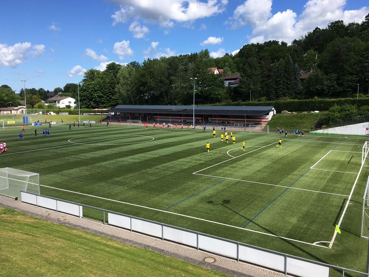 Zehn Mannschaften nahmen beim diesjährigen Wunderbar-Soccerturnier teil.