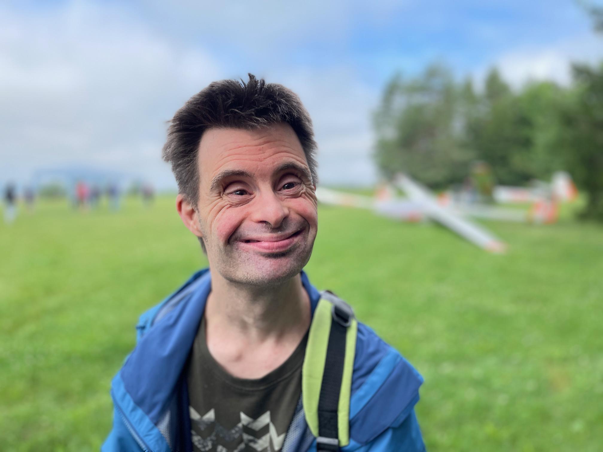 Seit vielen Jahren ein begeisterter Segelflieger: Matthias Sitzmann.