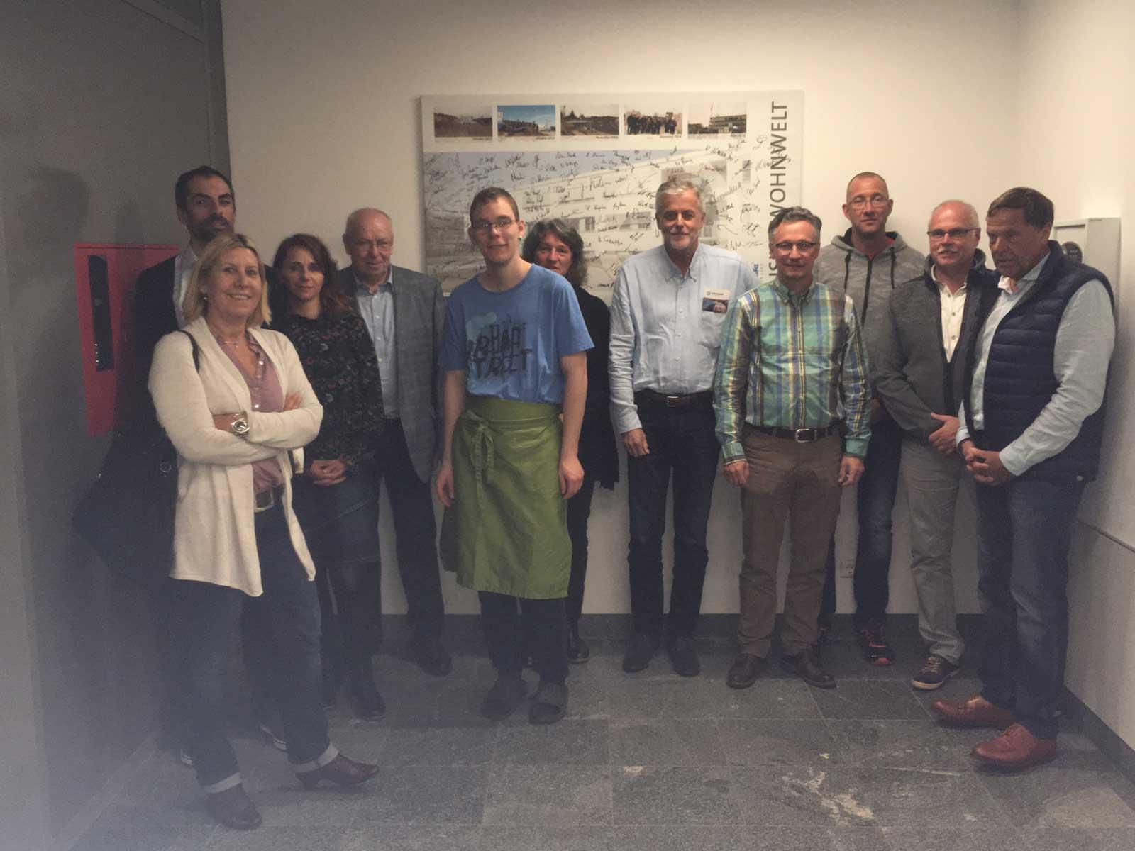 Besuch der Lebenshilfe Neunkirchen aus dem Saarland. Die Delegation informierte sich über die Reittherapie als auch über Wohnangebote der Lebenshilfe Nürnberger Land.