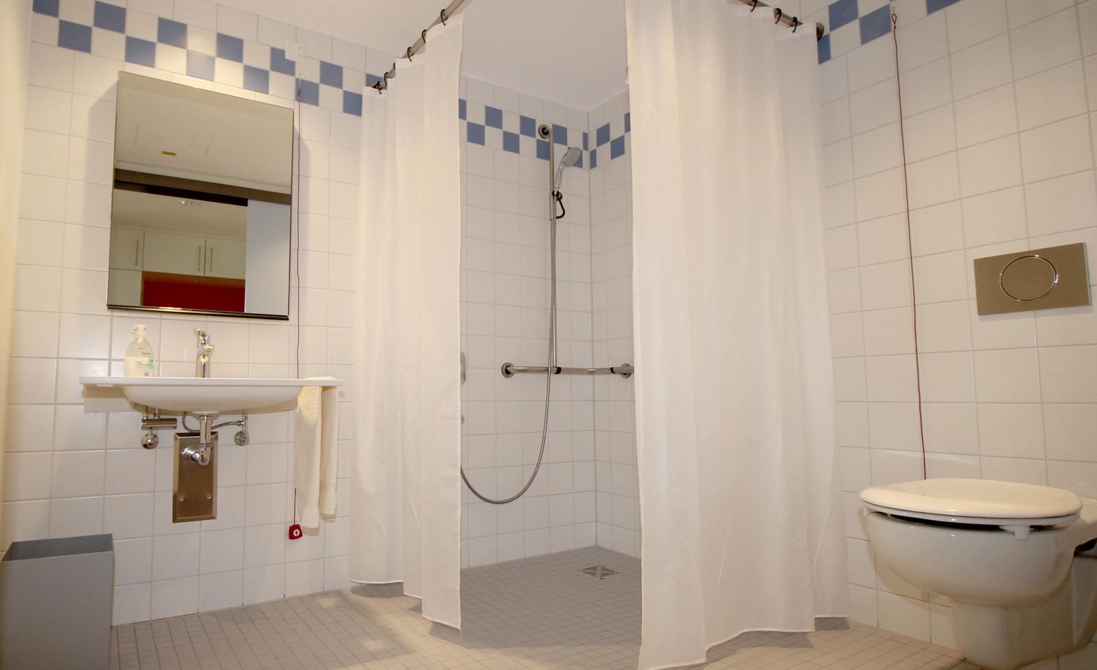 Inklusives Zuhause: Noch zwei Apartments mit modernem Bad (Bild) sind derzeit noch zu vermieten.