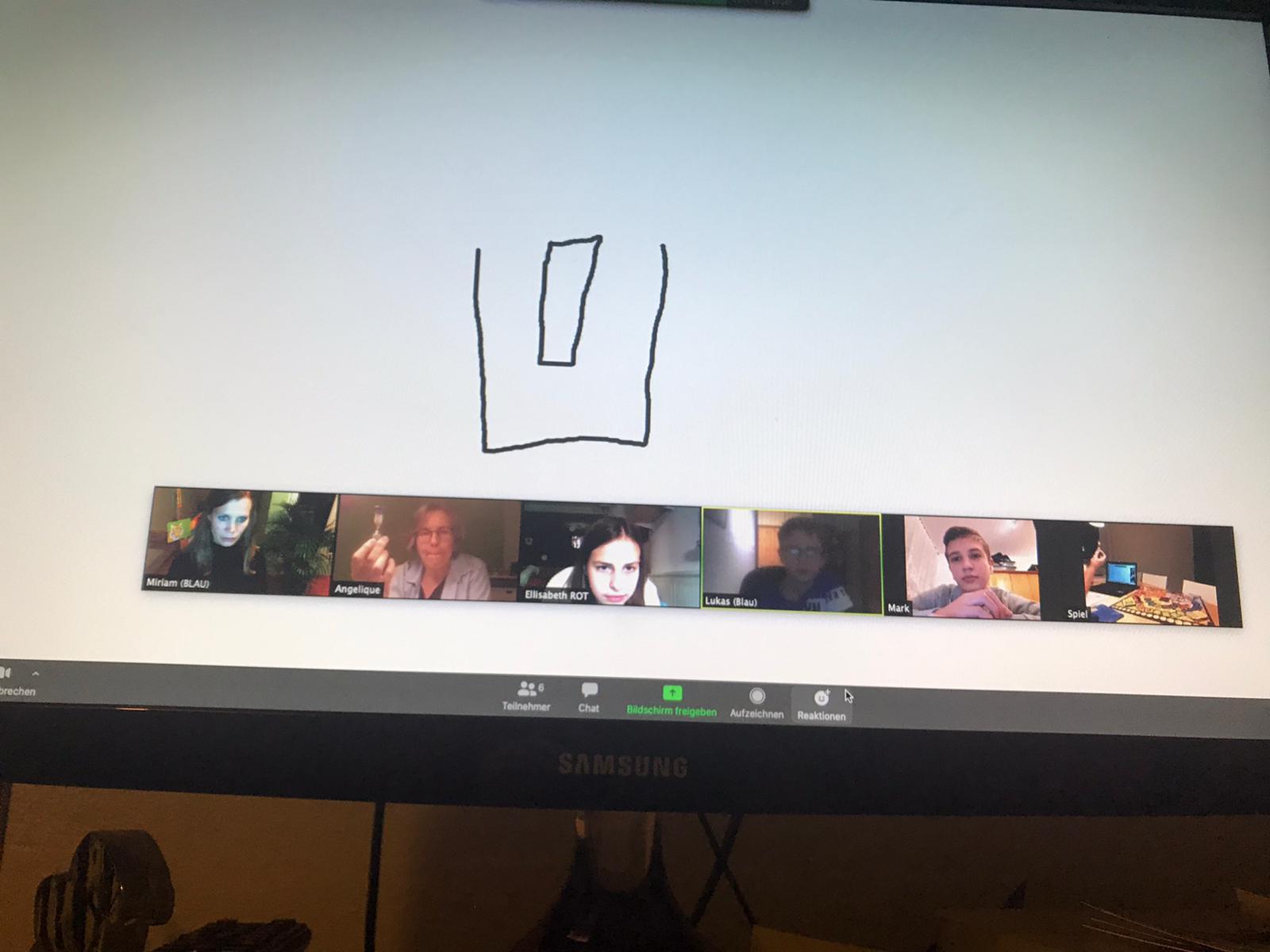 Virtuelle Treffen sind während der Corona-Pandemie eine gute Alternative zu Präsenz-Veranstaltungen. Die Geschwisterkindergruppe des FED's hat die virtuellen Treffen gut angenommen.