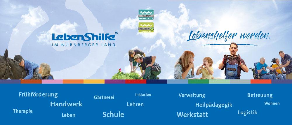 Die Lebenshilfe Nürnberger Land auf Fachmesse, Karl-Diehl-Halle, Röthenbach/Peg.: Sa, 19.10.2019, 10 - 17 Uhr
