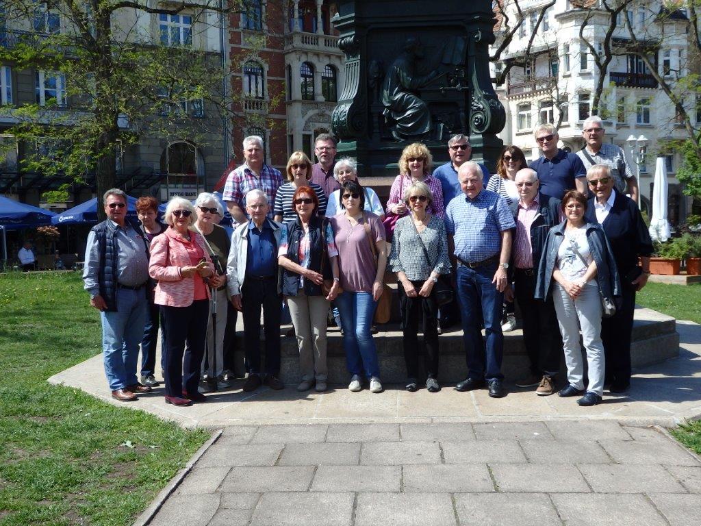 Lebenshilfe Nürnberger Land-Vorstand informierte sich bei den Kollegen in Eisenach.