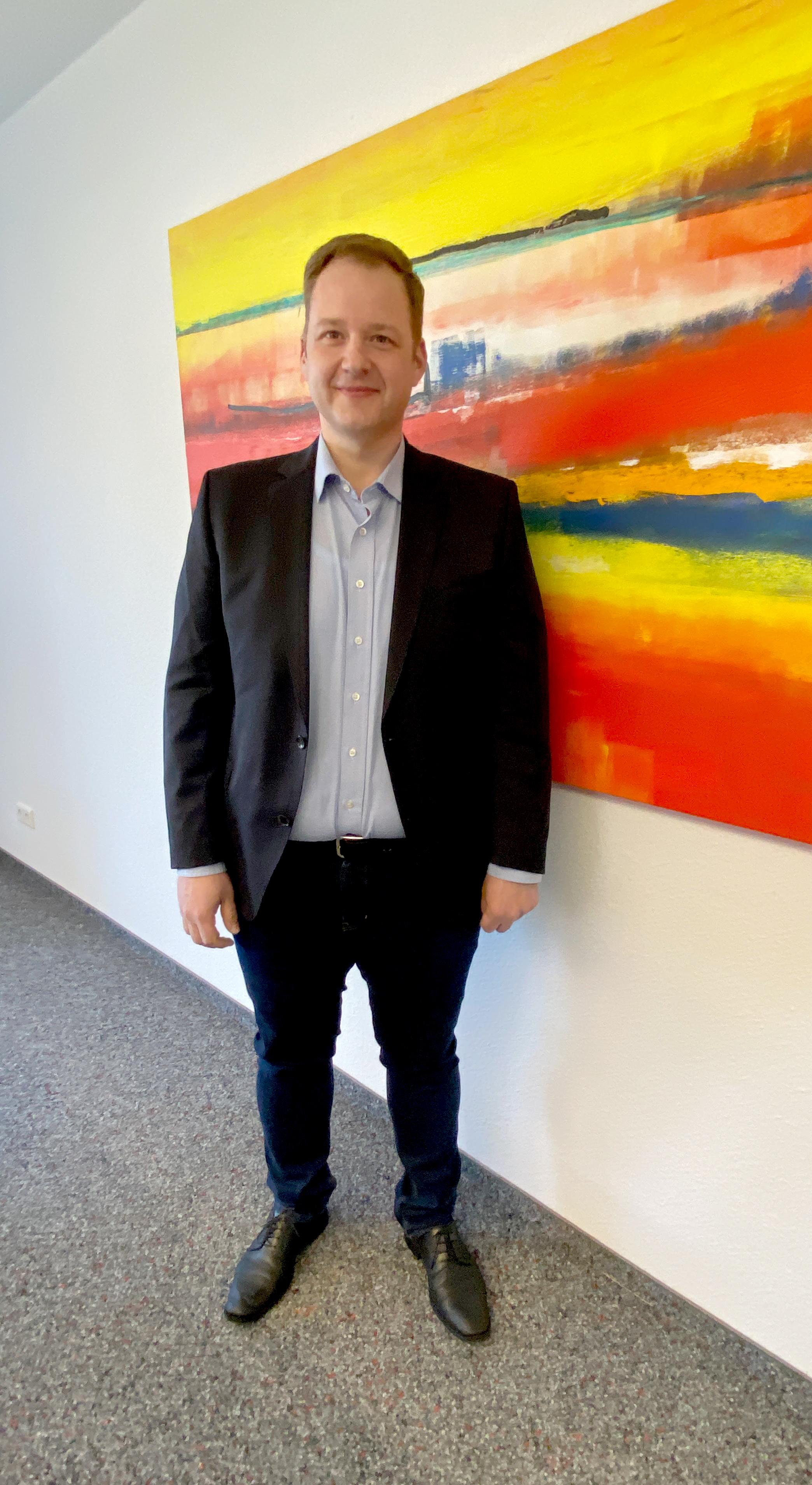 Ingo Sperber hat zum 1. März 2021 die Leitung des achtköpfigen Teams der Personalabteilung übernommen.