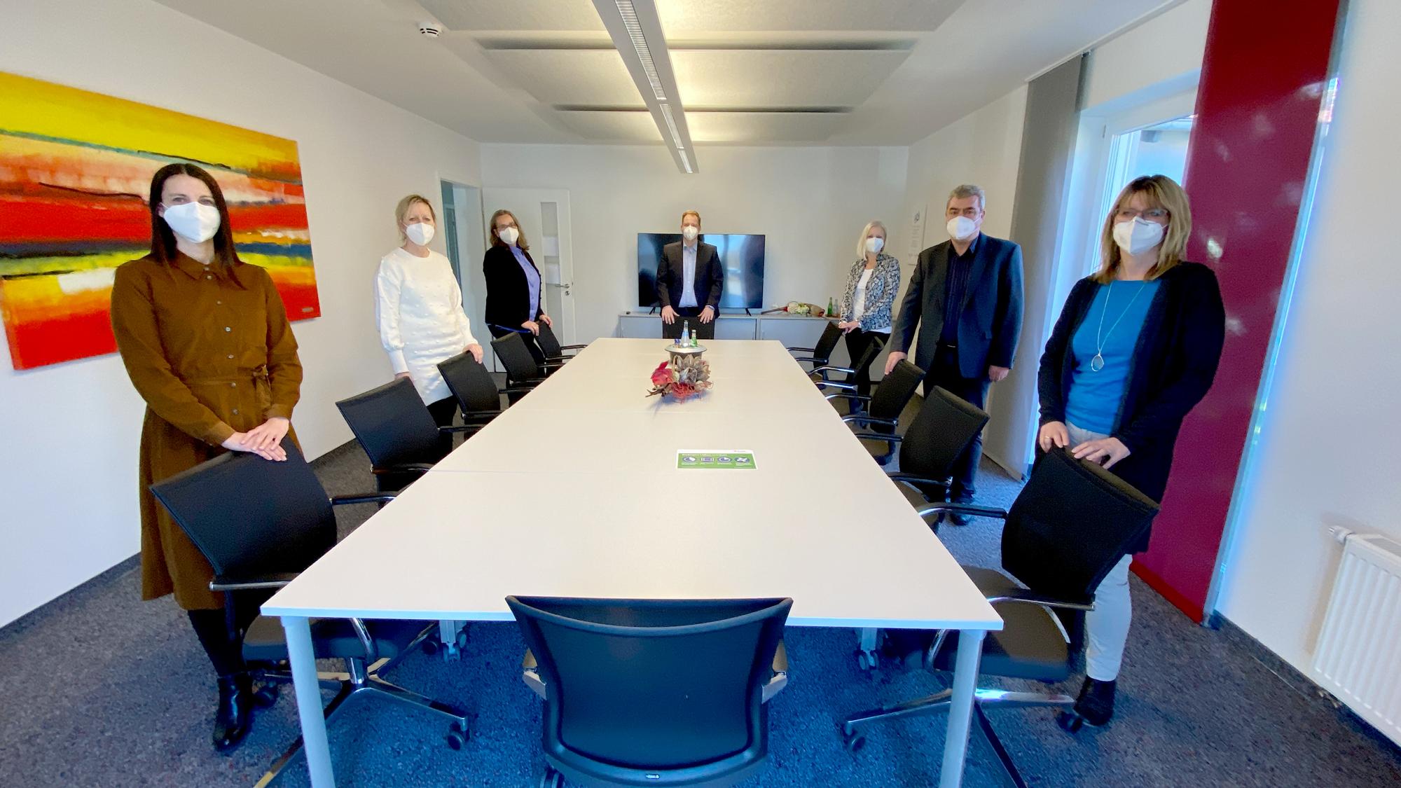 Das Personalteam koordiniert den Personaleinsatz für alle Beschäftigten aus 24 Einrichtungen der Lebenshilfe Nürnberger Land.