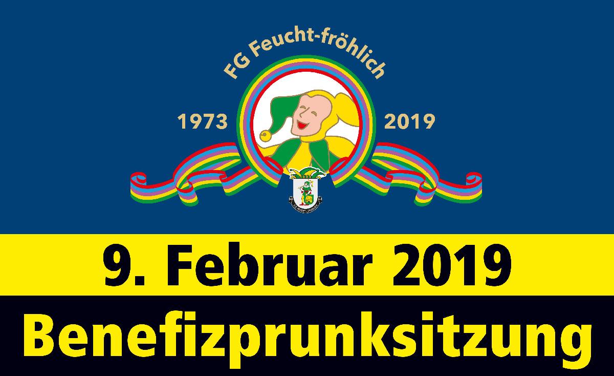 Benefizprunksitzung, 9.2.2019 - jetzt Tickets (25 Euro/P.) bestellen: Kartenvorverkauf, Telefon 09123 97 50 56. Der Erlös kommt Menschen mit Behinderung zu Gute.