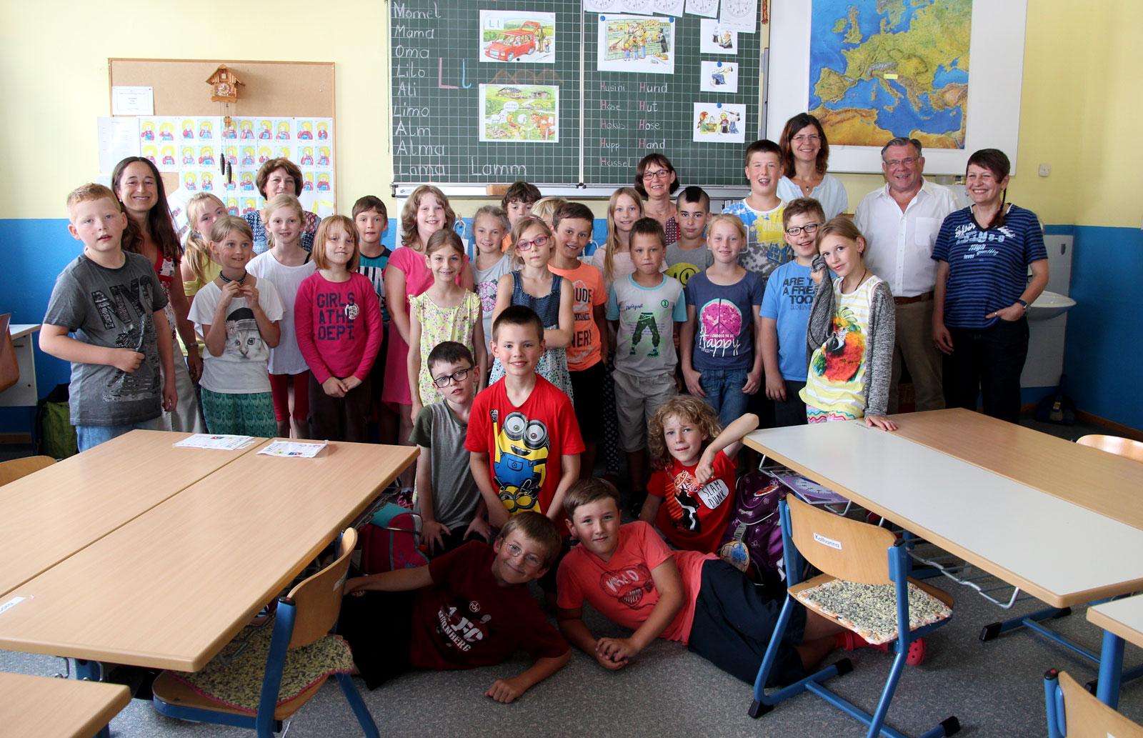 Seit 2011 lernen an der Grundschule Diepersdorf Kinder mit und ohne Förderbedarf miteinander und voneinander.