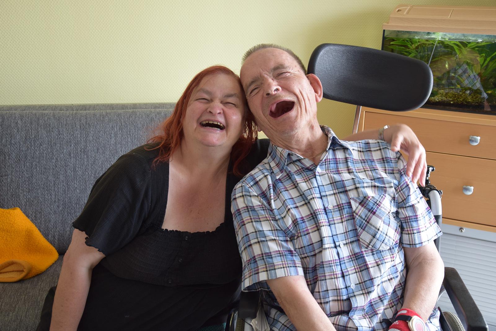 Birgit Hübner und Norbert Mahlich