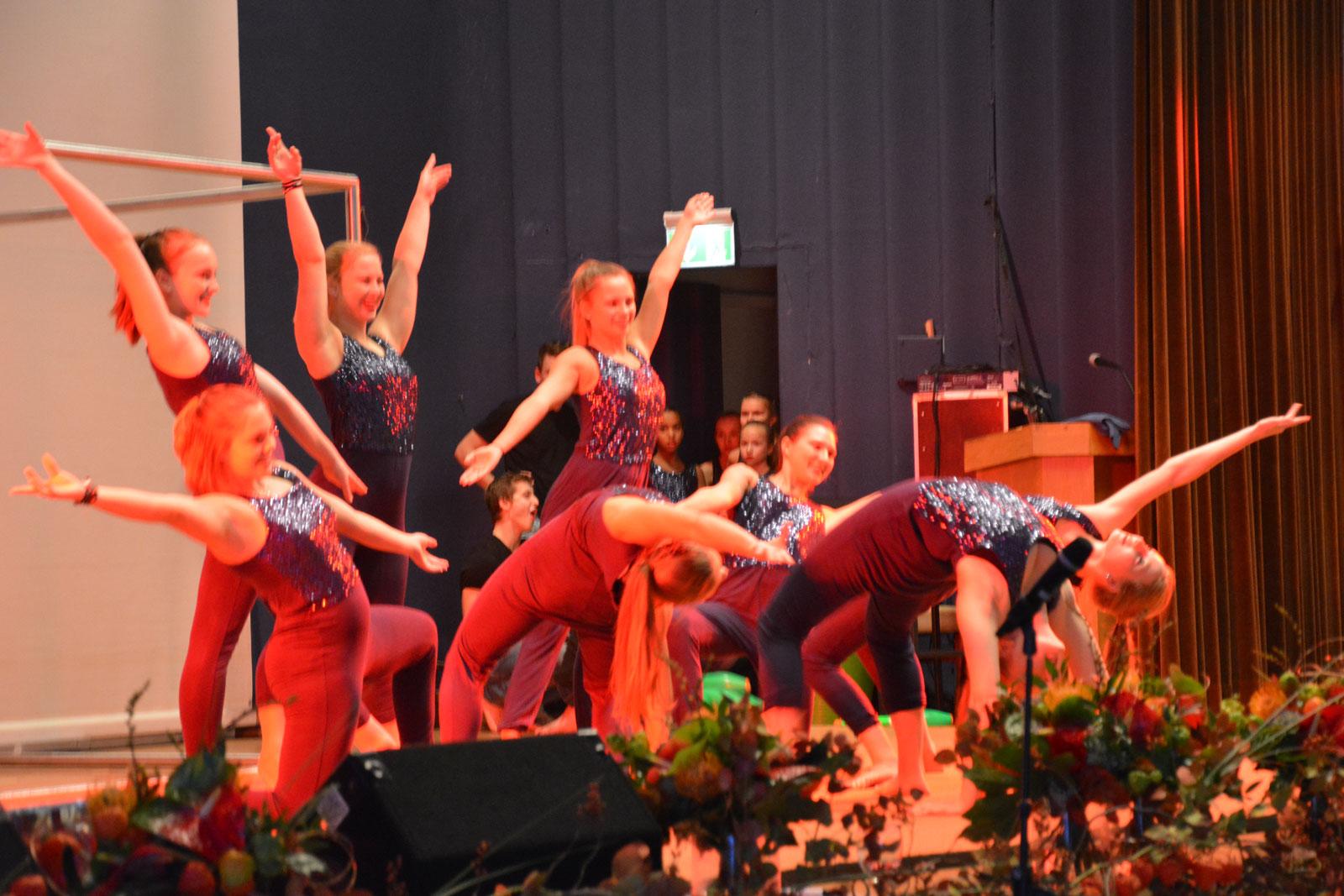 Akrobatische Höchstleistungen zeigten die Akteure des Zirkusvereins Neumarkt. Foto: Lorenz Märtl