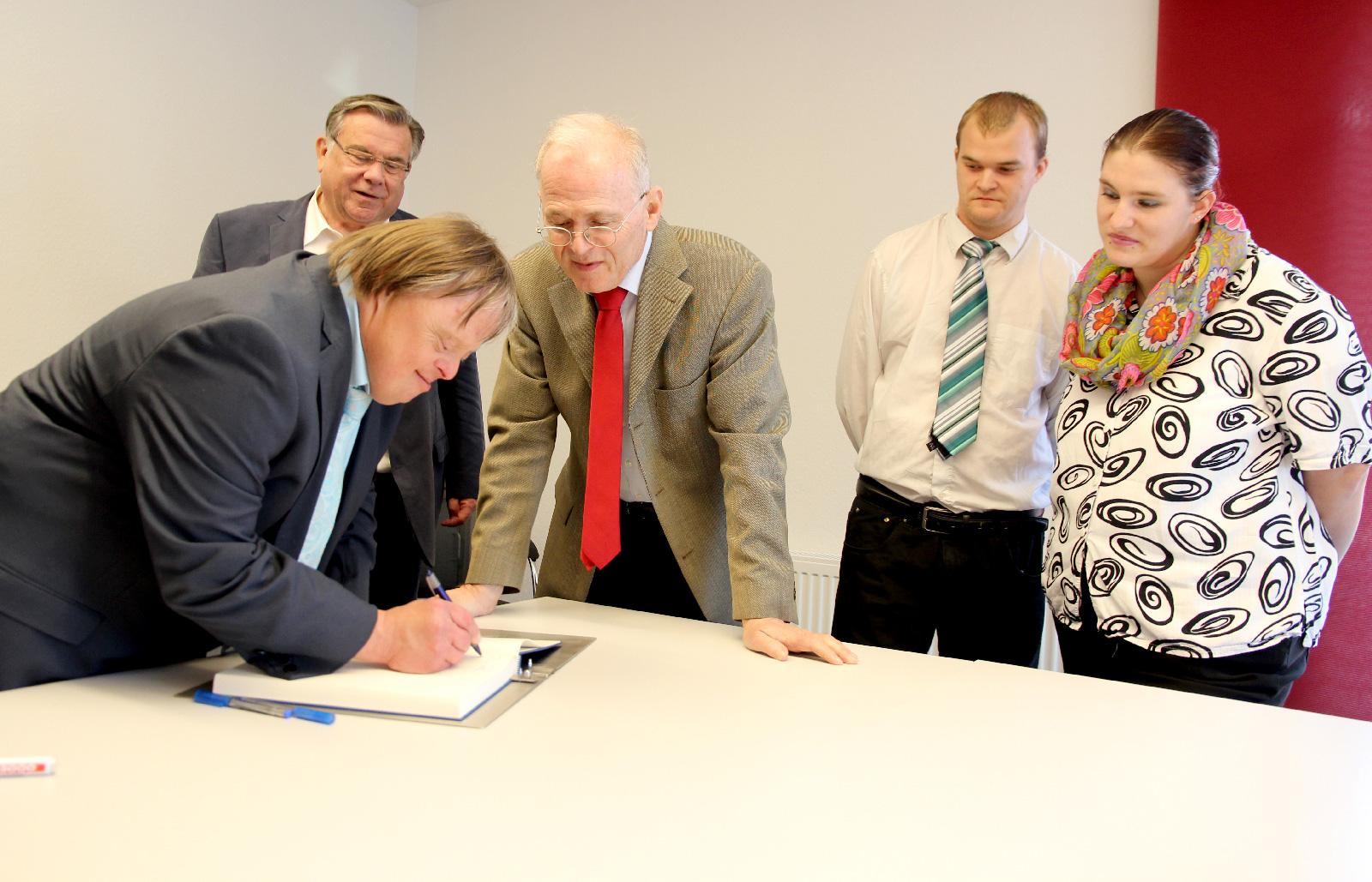 Partnerschaftsvertrag CJT und Lebenshilfe