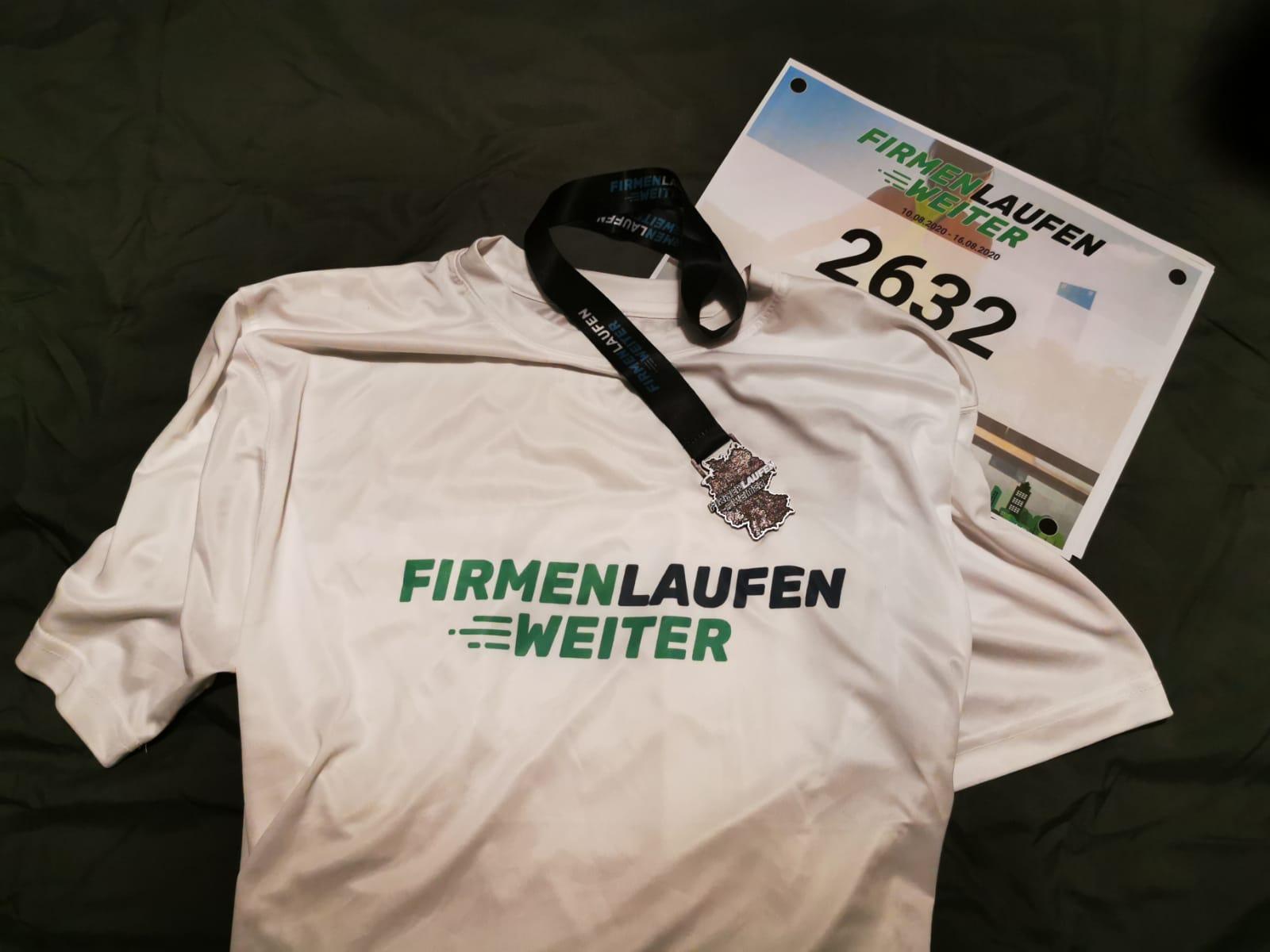 Firmen laufen weiter - wir laufen weiter - Wohnheim-Team starte erfolgreich für unsere Lebenshilfe im Nürnberger Land