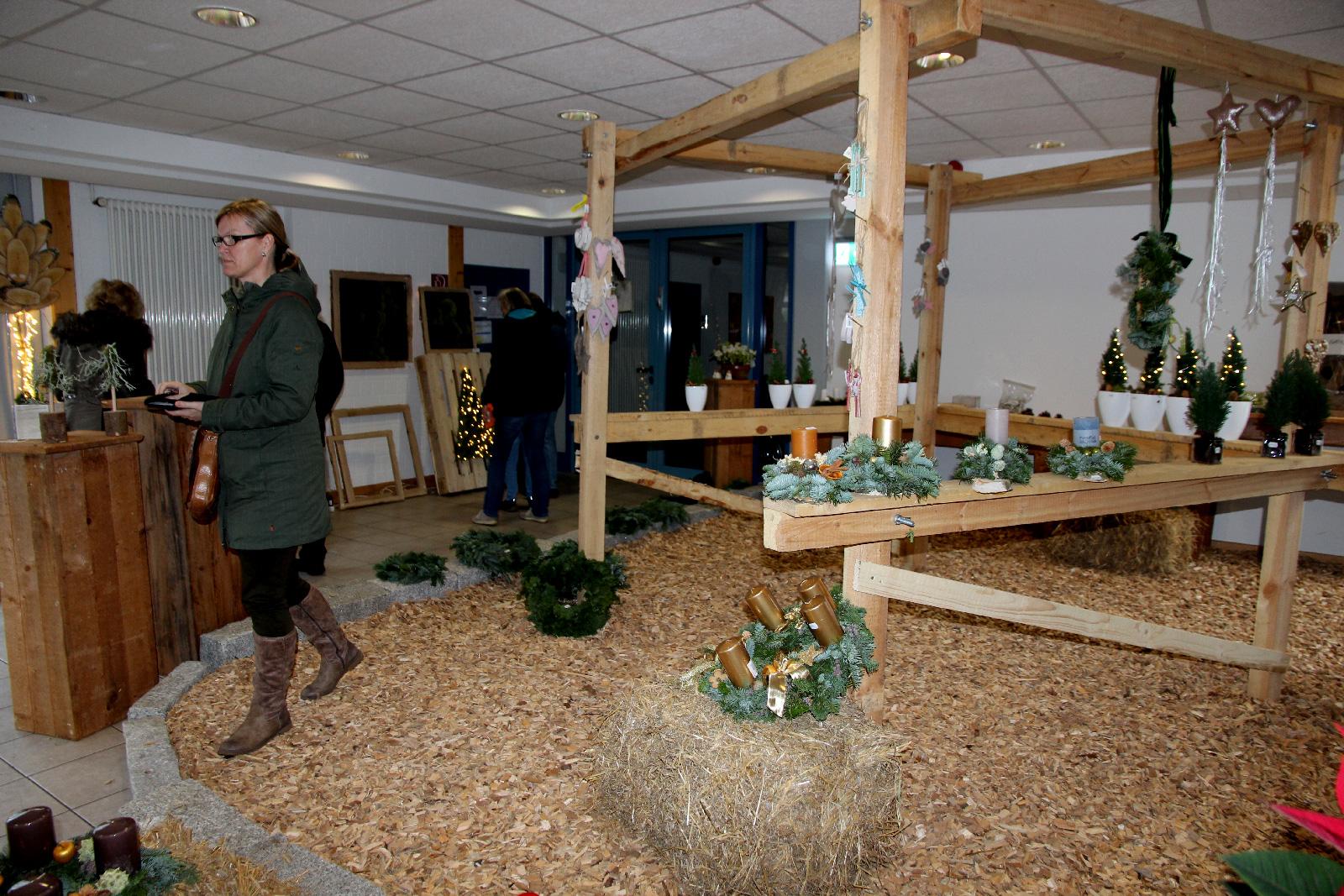 Die Adventsausstellung ... kommt bei den Besuchern immer an und ist in kürzester Zeit ausverkauft.
